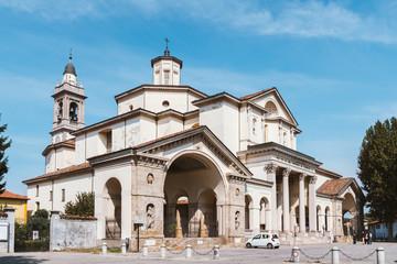 SS. Gervaso e Protaso Church in Gorgonzola, Lombardy, Italy