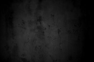 Ungleichmäßige schwarze Oberfläche