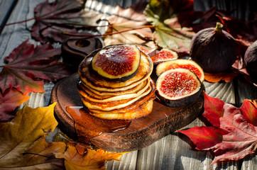 Delicious autumn Breakfast