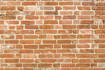 Poster Baksteen muur Backsteinmauer als Hintergrund