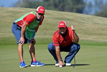 Olympics: Golf-Men's Individual-Round 4