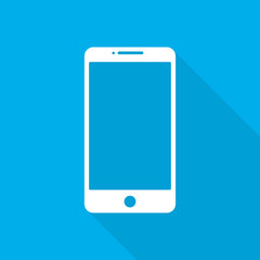 Smart phone icon. Vector illustration