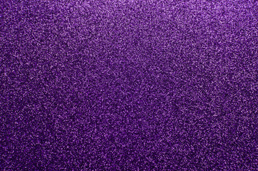 Sparkling and glittering purple background with a festive or party feel Wall mural