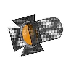 stage light icon image vector illustration design