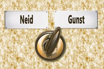 Schild 281 - Gunst