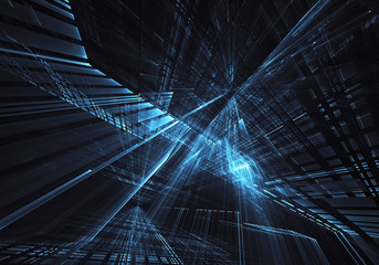 Abstract technology illustration, background,