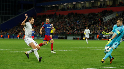 Champions League - CSKA Moscow vs Manchester United