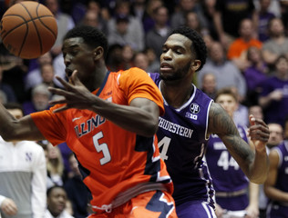 NCAA Basketball: Illinois at Northwestern