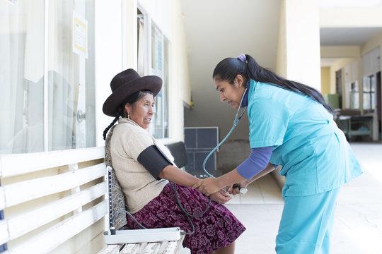 Medical Clinic. Peru