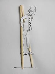 Man on Stilts