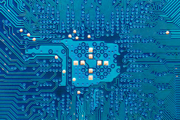 Blue printed circuit board macro