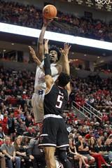 NCAA Basketball: Kansas at Texas Tech