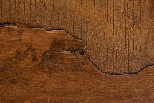 Background texture of a grungy, gritty weathered wood