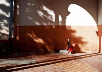 Girl and shadows