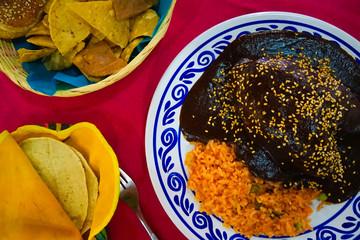 Mole Polbano - National Dish of Mexico