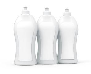 3D rendering Dishwashing liquid