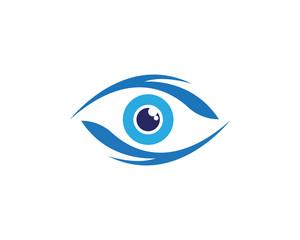 Eye Care vector logo design