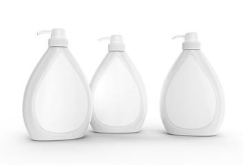 Body wash or liquid soap bottle