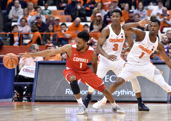 NCAA Basketball: Cornell at Syracuse