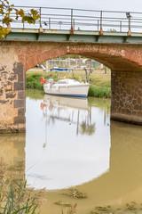 pont sur le canal du Midi, France