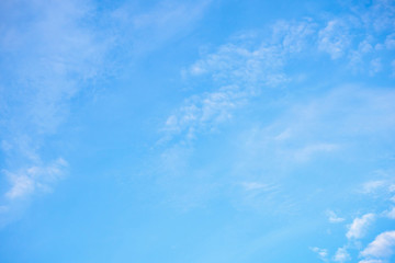 blue sky with clouds nature abstract background