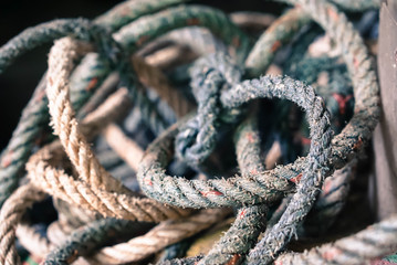 Ropes background