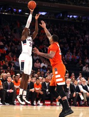 NCAA Basketball: Connecticut vs Syracuse