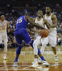NCAA Basketball: Kansas at Texas