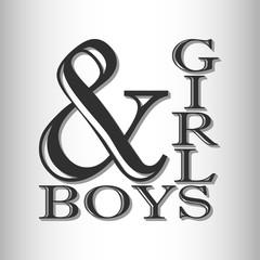 print boys & girls