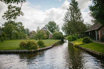 The Village Of Giethoorn, Netherlands