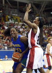 Pan Am Games: Basketball-Canada vs Brazil