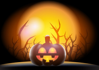 31 October Halloween vector design background