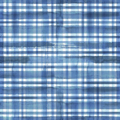 Blue plaid abstract texture