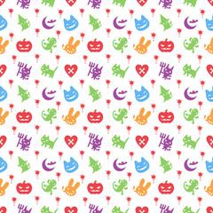 cute hallowen pattern background