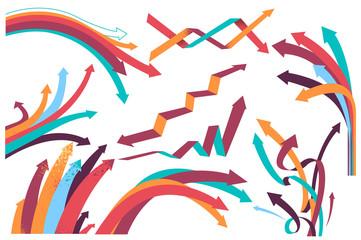 Frecce, grafici e vettori