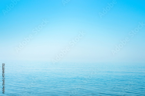 Fotomurais sea blue surface, horizon, calm. background. Azov. Ukraine.