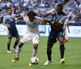 MLS: Chicago Fire at Vancouver Whitecaps FC