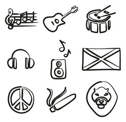 Reggae Icons Freehand