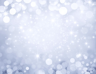 Glittering silver background