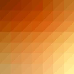 Abstract Orange Red Modern Mosaic Pattern