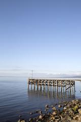 Old Pier at Trefor; Caernarfon; Wales