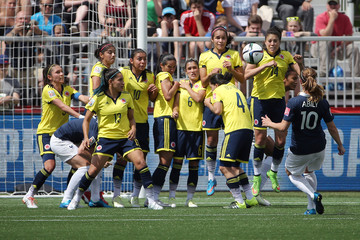 Soccer: Women's World Cup-France at Colombia