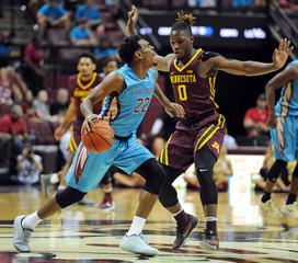 NCAA Basketball: Minnesota at Florida State