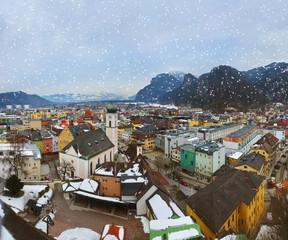 Wall Mural - Town Kufstein in Austria