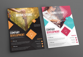 Music and Tech Retail Flyer Layouts 1