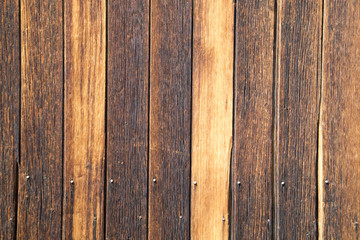 A wood panel texture