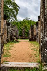Atadage temple at Polonnaruwa