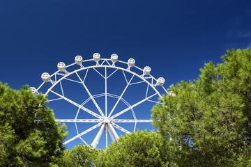 Ferris Wheel in Barcelona, Spain