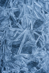 large ice crystals