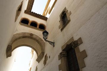 Detail of Sitges, Spain